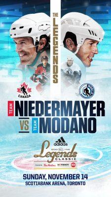 adidas Hockey Hall of Fame Legends Classic