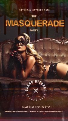 Grand Bizarre Halloween Masquerade Party