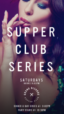 Supper Club Series with Chef Robert Rainford @ Gra...