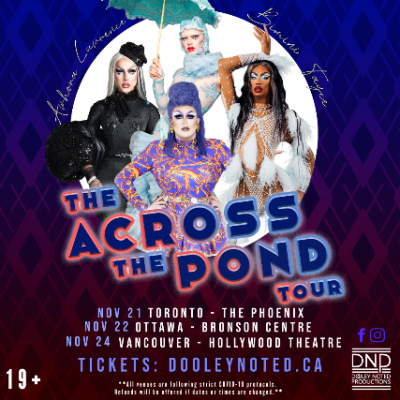 Across the Pond Tour featuring Lawrence Chaney, Bi...