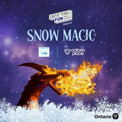 Drive Thru Fun Co. presents Snow Magic