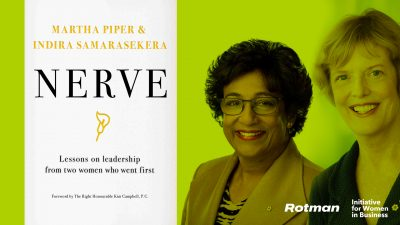 Women and Leadership Speaker Series: Martha Piper & Indira V. Samarasekera